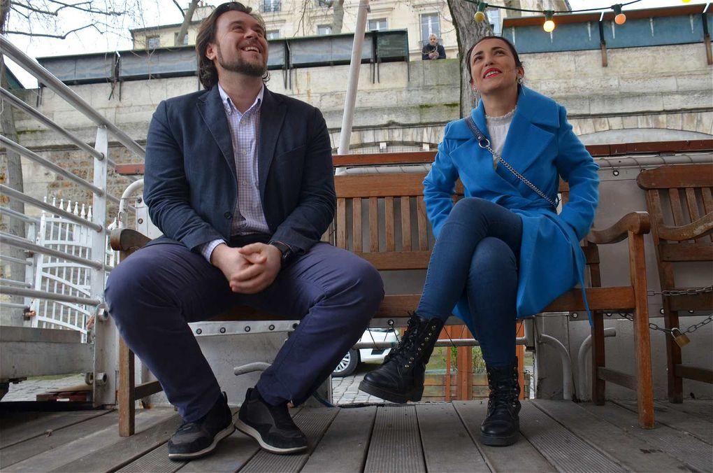 Les couleurs de Croatie sur la Seine