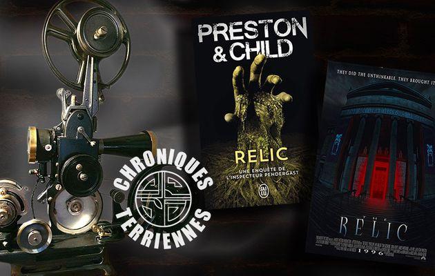 📚🎬 PRESTON & CHILD - PENDERGAST T1 RELIC  (1995)