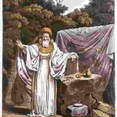 El druida, sacerdote, sabio y mago, heredero de la sabiduría de los celtas
