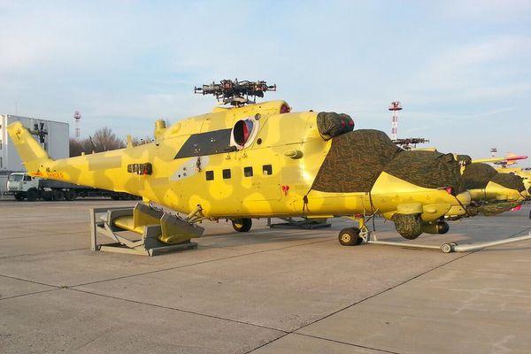 L'Irak reçoit ses premiers Mil Mi-35