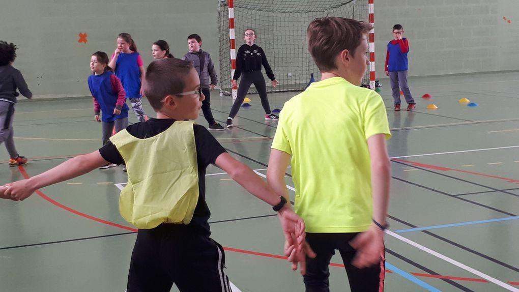 Rencontre sportive cycle 3