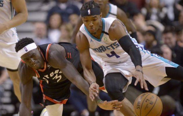 Les Raptors chutent encore contre les Hornets !