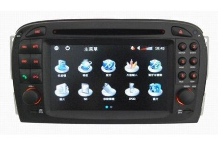 cheap tvs for sale | Where can I buy Piennoer Car GPS Original Fit Mercedes SL R230 6-8 Inch Touchscreen Double-DIN Car DVD Player  &  In Dash Navigation System,Navigator,Built-In Bluetooth,Radio with RDS,Analog TV, AUX & USB, iPhone/iPod Controls,steering wheel control, rear view camera input