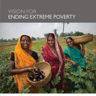 The U.S. commitment to ending extreme poverty by 2030 is enshrined in the 2015 National Security Strategy (link is external)