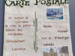 Carte postale - RÉGION