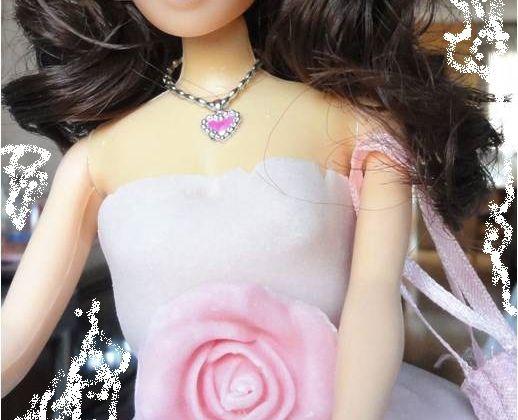 Un gateau de filles : la poupée Barbie en 3D !!!