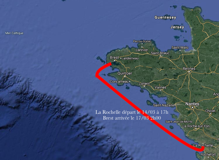 Port du Moulin Blanc à Brest