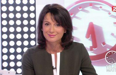 📸14 LAURENCE OSTOLOZA @France2tv @telematin ce matin #vuesalatele