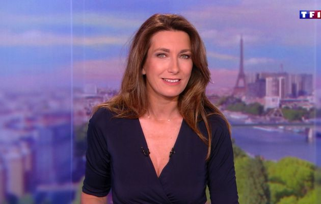 📸16 ANNE-CLAIRE COUDRAY @ACCoudray @TF1 @TF1LeJT pour LE 13H WEEK-END #vuesalatele
