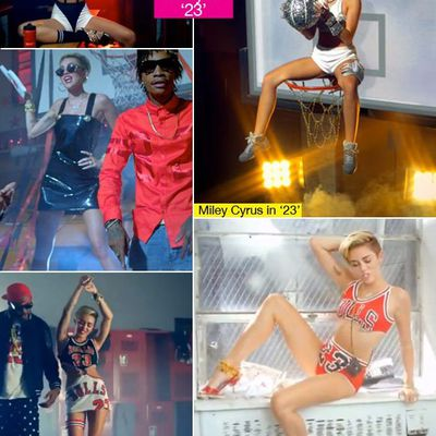 Miley Cyrus' '23'Video Outfits