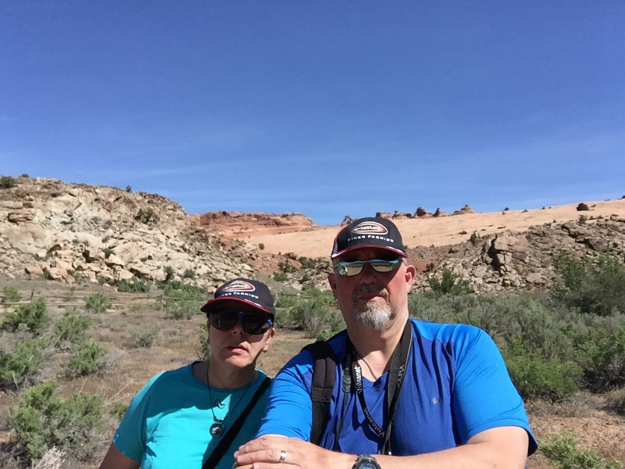 Goldwing Unsersbande - Un couple et une moto dans le Wild West américain 07 jour -  De Moab, Arches National Park, Capitol Reef à Tropic