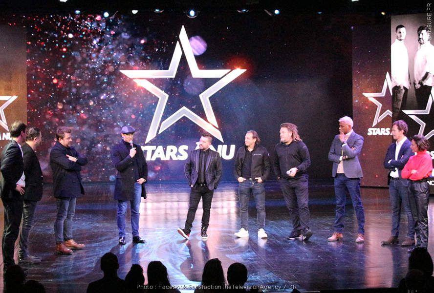 Les premières images de Stars À Nu ! (Vidéo et diaporama) #StarsÀNu