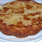 Gâteau pommes et mascarpone au citron vert combava ou combawa - Cuisine gourmande de Carmencita