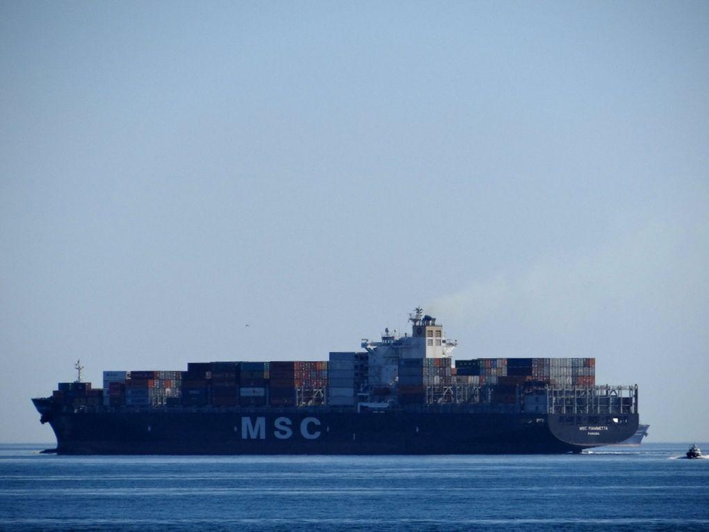 MSC FIAMMETTA , appareillant de Fos sur Mer le 24 juin 2016