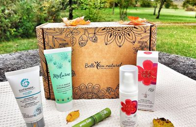 Ma Box Belle au Naturel d'octobre - unboxing