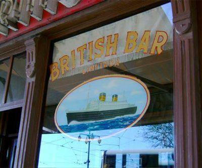 O British Bar em Lisboa