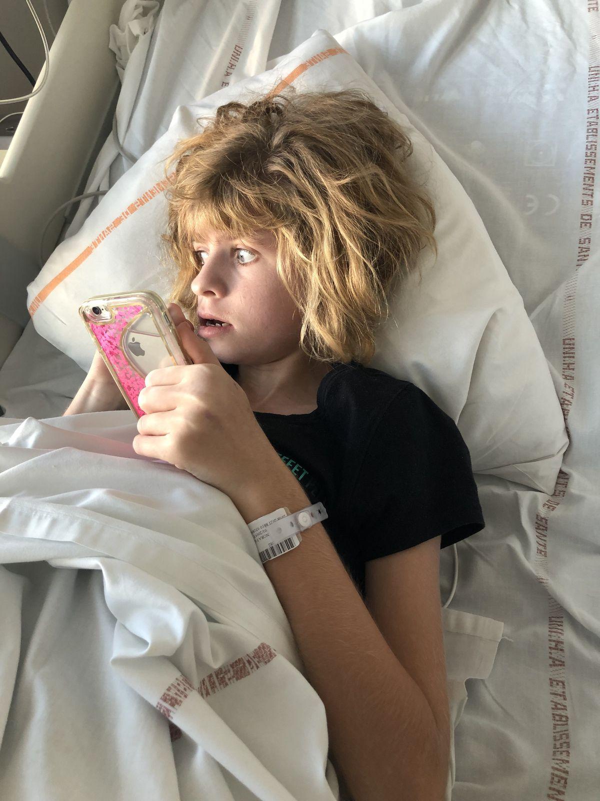 Encore à l'hôpital