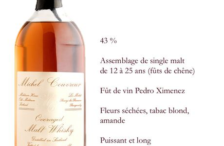 Whiskies Michel Couvreur - Whisky Michel Couvreur