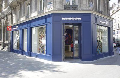 Basket4Ballers, le temple du basket ouvre sa boutique à Paris !