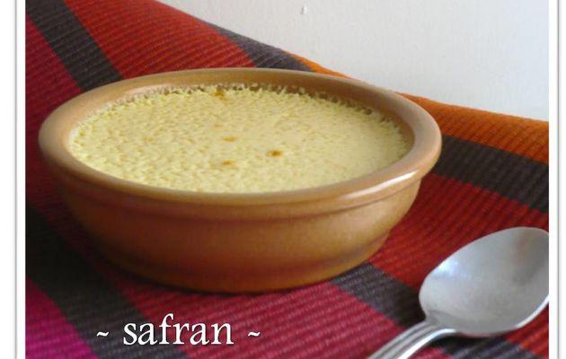 Crème safran - cardamome