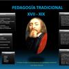 Cuadro General de la Pedagogía Tradicional