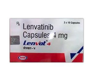 Lenvat 4 mg Capsules Price - Buy Lenvatinib Online From India