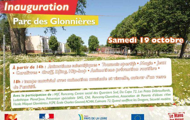 Glonnières : quand la Plaine devient un parc. Après-midi festif et inauguration le samedi 19 octobre.