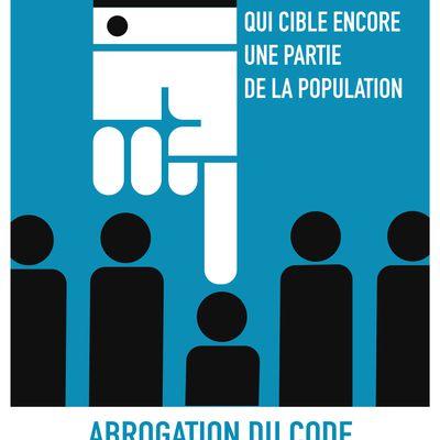 Campagne pour l'abrogation du CESEDA