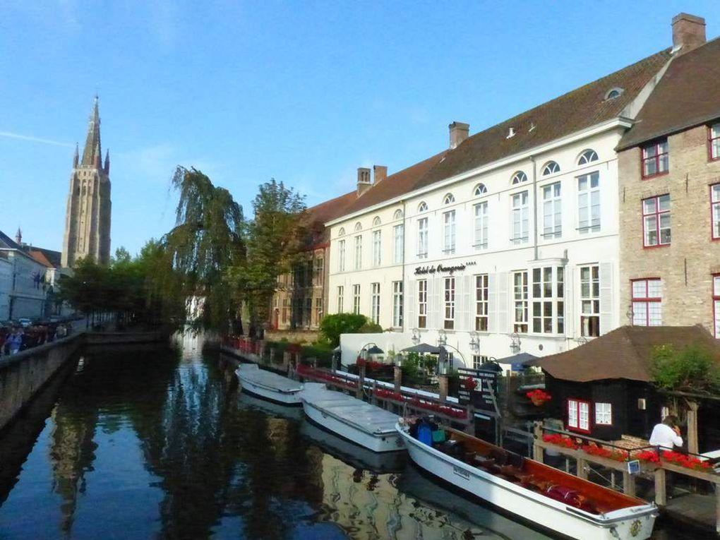 Bruges sous le soleil.