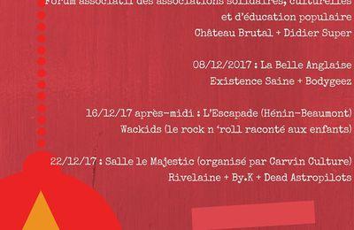 Au programme de l'édition 2017 du Père Noël rock