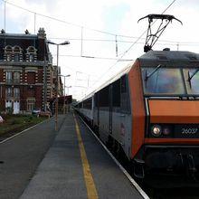 Travail - Le dernier train de pèlerins à Tourcoing