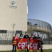 Mouvement de grève à l'Ehpad Korian Les Catalaunes de Châlons
