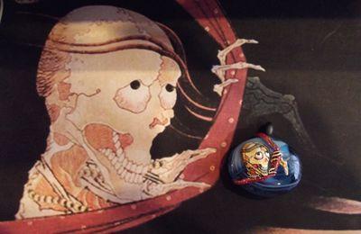 Bijoux œuvre d'art :Le fantôme de Kohada Koheiji