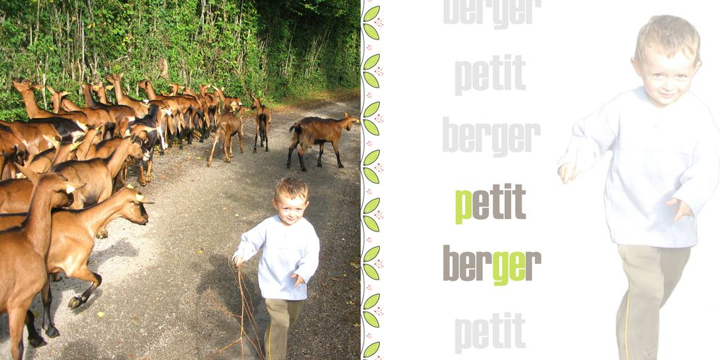 Ma copine Cécile a mis en scène quelques-unes des photos de la bergerie. A savourer sans modération !