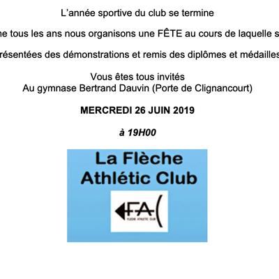 Fête du Sport 2019 à la FAC