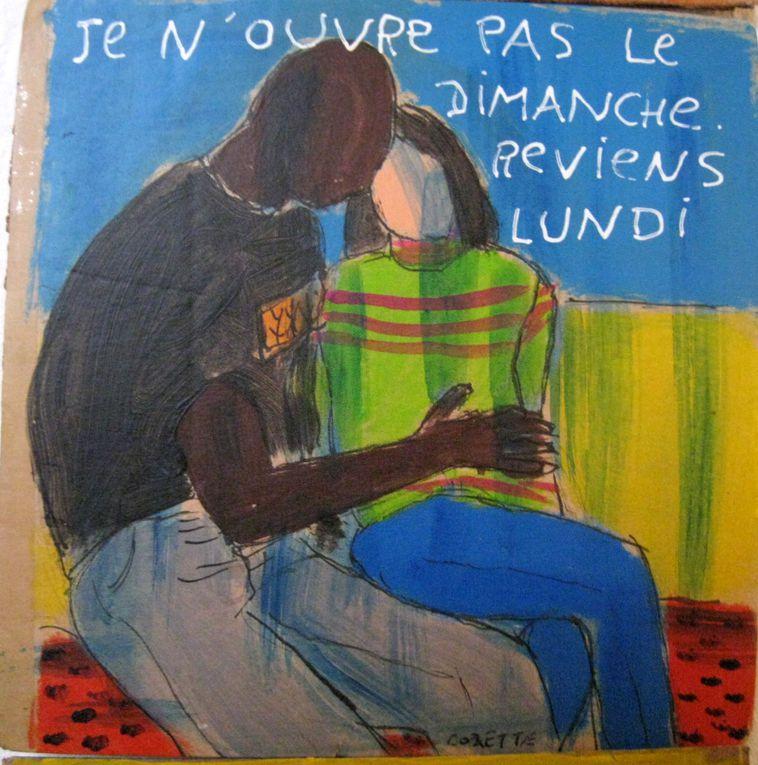 Galerie située dans 'Les Frigos', Paris 13e