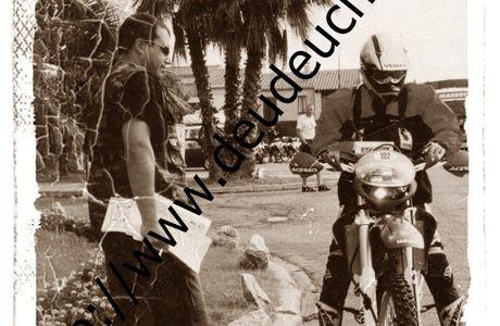 Transpy AMV (Assurance Moto Verte) J.S.O (Jacques Santenac Organisation), ou la traversée de pyrénées en moto tout terrain