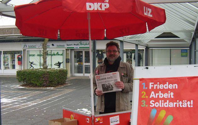 """Elections en Allemagne - Point de vue de Patrick Köbele, prés. du PC allemand (DKP) - """"Une bataille qui doit renforcer le Parti"""""""