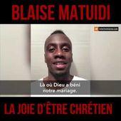 Blaise Matuidi parle de la joie d'être chrétien !
