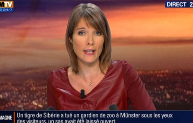 2013 09 20 - 21H30 - LUCIE NUTTIN - BFM TV - WEEK-END 360