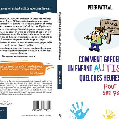 """Conférence de presse pour le manuel """"comment garder un enfant autiste quelques heures pour aider ses parents, aux éditions La boite à Pandore ."""
