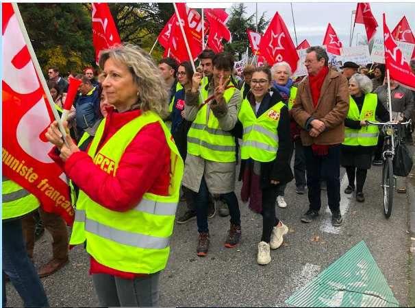 14 000 à Avignon contre la retraite à points!