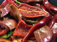Harissa maison aux légumes du jardin