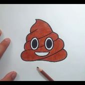 Como dibujar un Emoji paso a paso 8   How to draw an Emoji 8