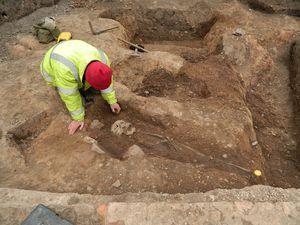 Un cimetière romain découvert dans un parking de Leicester