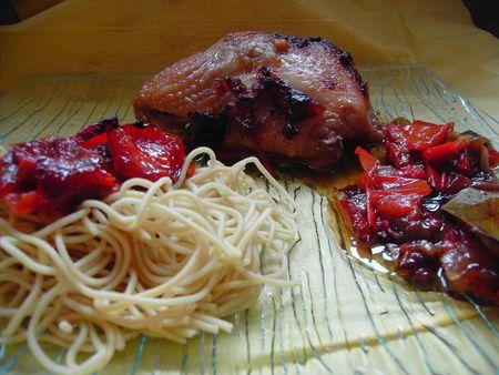Poulet sauce huitre (idéal pour les anti-fruits de mer)