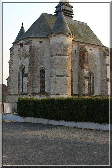 Diaporama de l'église fortifiée de Renneval