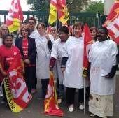 CGT Korian: Des salariés grévistes de la maison de retraite Villa Evora, à Chartres, réclament des moyens supplémentaires. - Le blog des salarié-es de Korian