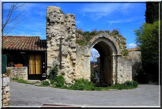 Diaporama château de Reillanne