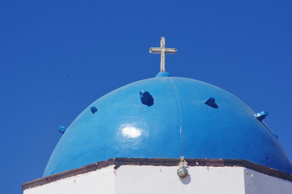 Quelques églises de Santorin